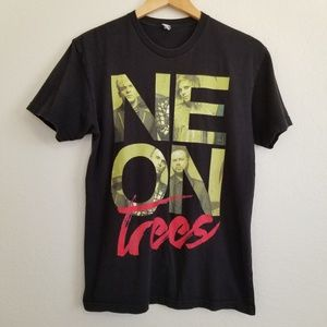 Neon Trees Graphic Band T Shirt M